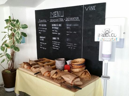 Vejle, Dinamarca: Brotbuffet