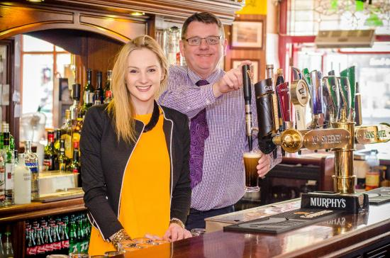 McSweeney Arms Hotel : Tony and Kelly Ann McSweeney