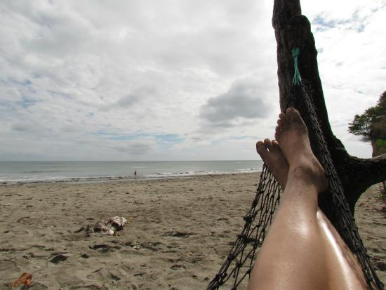 Playa Escondida : Ahh....order a pina colada and REST!