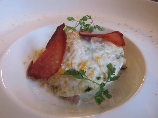 Les Tables du Prince Noir : Bacon and egg like you have never seen before!