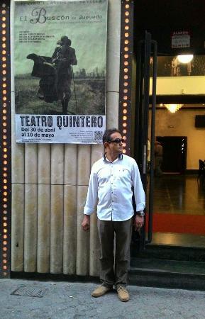 Tablao Alvarez Quintero : Entrada al teatro..