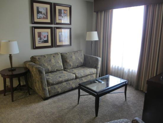 Homewood Suites by Hilton Orlando-UCF Area: 1 BR living room, 3rd floor corner