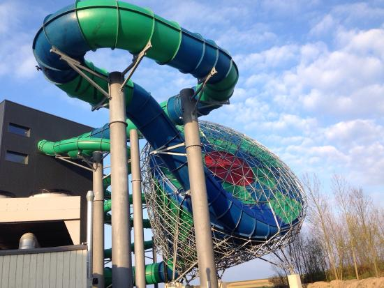 Super ride - Picture of Lalandia Rodby Resort, Roedby ...