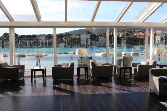 bar avec vue piscine picture of ile rousse hotel