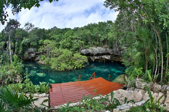 Ecopark Kantun Chi: bajando al cenote num 5 Zihil ha