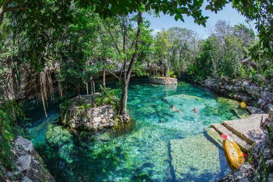 Ecopark Kantun Chi: cenote uch ben ha No3