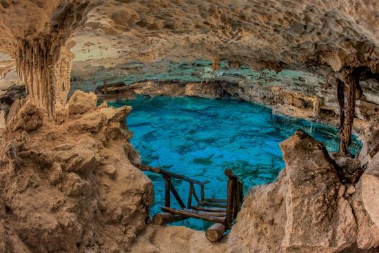 Puerto Aventuras, Mexico: Recorrido subterráneo en Gruta de Kantun Chi