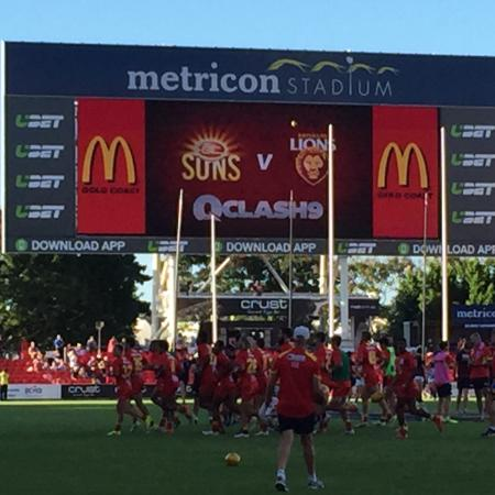 Metricon Stadium: Suns vs Lions