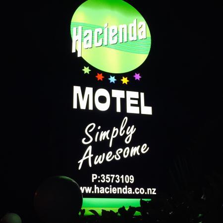 Hacienda Motel : Hacienda Motor Lodge