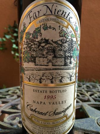 Far Niente Winery : 1995 Cabernet Sauvignon
