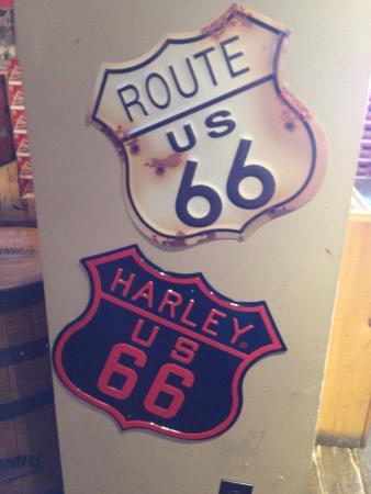 Fatboys Southern Smokehouse: Route 66!