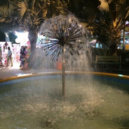 Hili fun city. Fountain