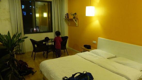 Wajiang Hostel Guilin Railway Station: chambre double