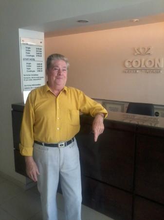 Colon Hotel y Apart: Recepción