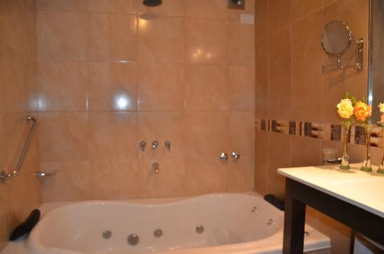 Apart Hotel Matute: Baño