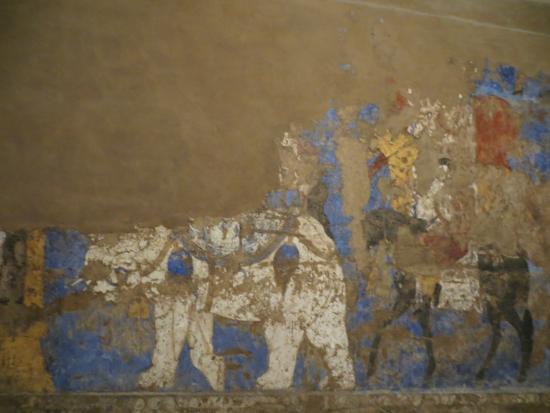 Afrasiab : Elephant on the mural