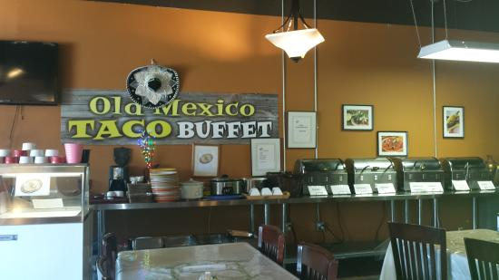 Old Mexico Taco Buffet: Yumm