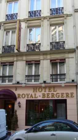 Hotel Royal Bergere: El frene del hotel