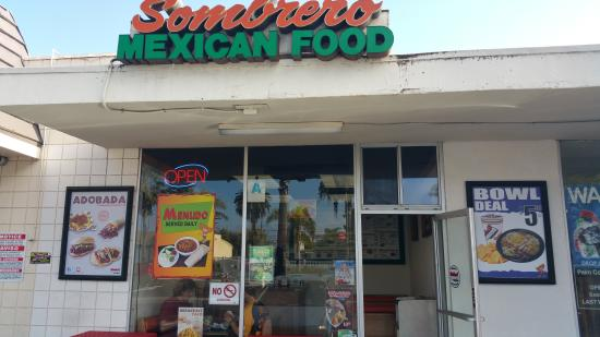 Sombrero Mexican Food