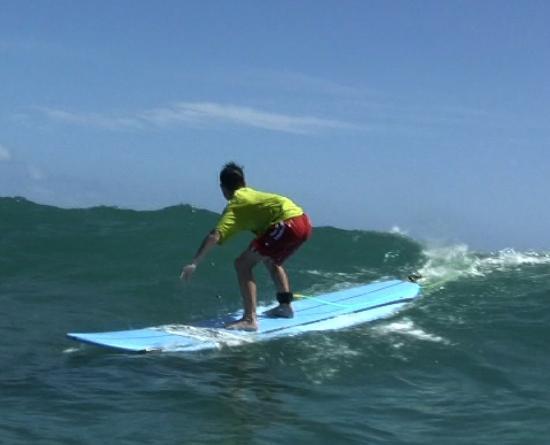 Ty Gurney Surf School : I did it!