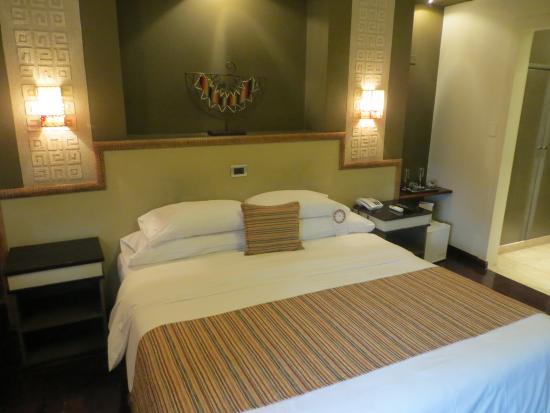 Hotel Patios de Lerma: Habitación