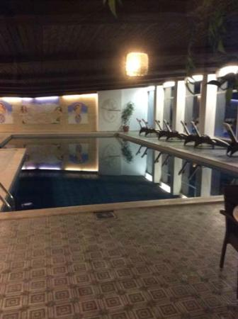 Thermal-Badhotel Kirchler: Hotel indoor pool 17m x 5m rectangular nice to swim in