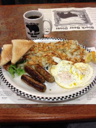 Black Bear Diner: Really good sausage and eggs!