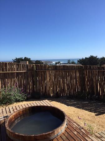 Cuarzo Lodge: Hot Tub privado en la terraza de la suite