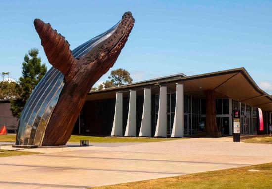 Fraser Coast Discovery Sphere: Front entry