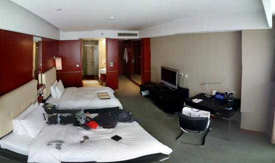 Shenzhou International Hotel: my double room.