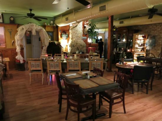 Badin, NC: Tree house Dining room