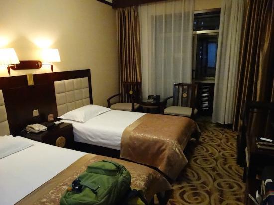 Hualian Hotel: Twin Room Floor 20