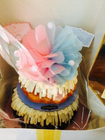 Baby Shower Cake For Twins Picture Of Nothing Bundt Cakes Reno