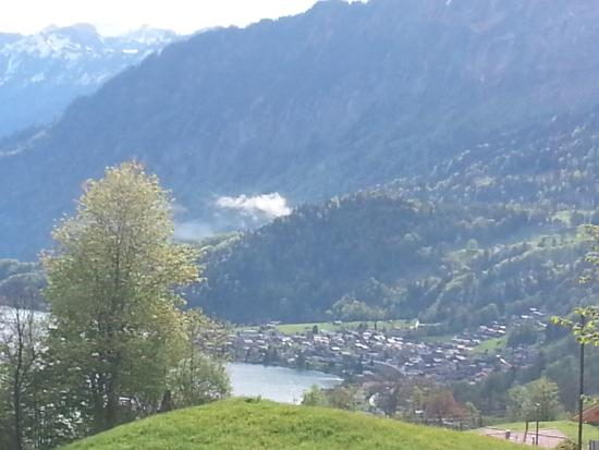 Краттинген, Швейцария: view 2 minutes walk from hotel