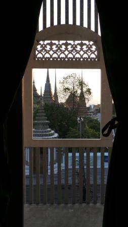 Arom d Hostel: Wat Pho na janelinha!