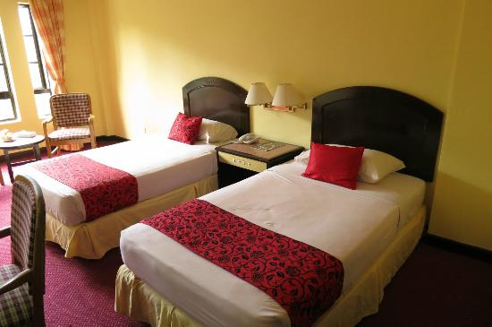 Seri Malaysia Genting Highlands: The twin bed room