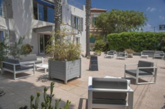 Hotel Key Largo : terrasse