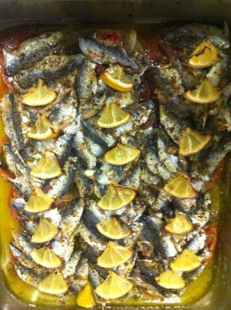 Plagios: σαρδελα στο φουρνο