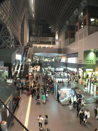 Hotel Granvia Kyoto: Inside Kyoto Station Complex