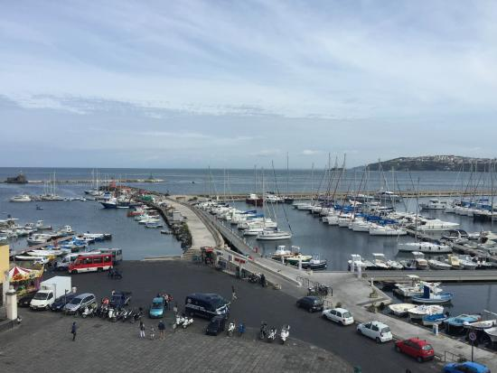 Hotel'a Sciulia: Affaccio sul mare dell'Hotel