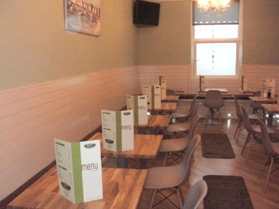J & C's Chippy Restaurant: The new seating