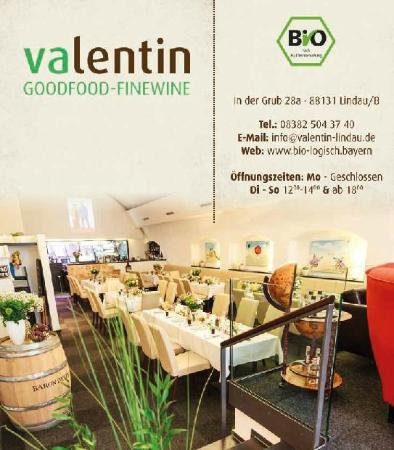 Restaurant valentin goodfood finewine