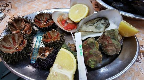 Fratelli Marino Palermo: Frutti di mare