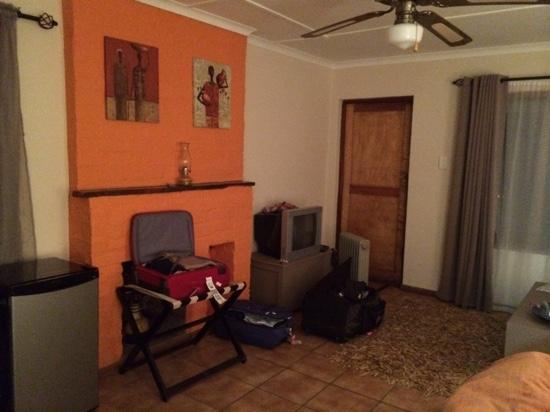 Saxon Lodge: albatros room