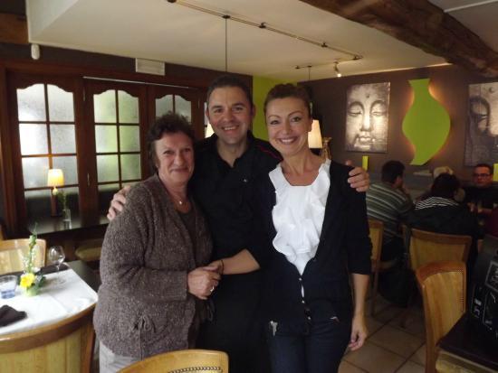 Bouillon, België: Avec les patrons