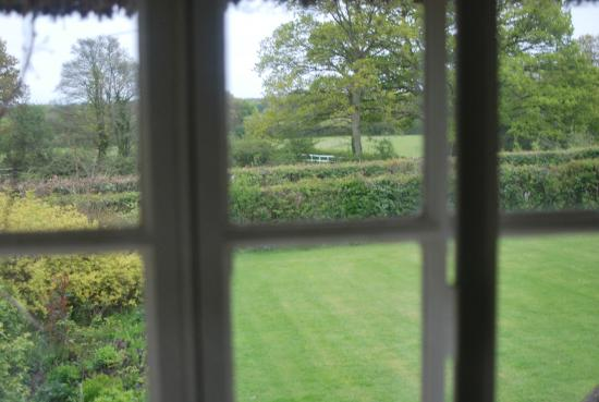 West Tytherley, UK: View from our room