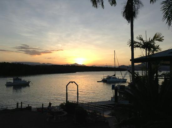 Hinchinbrook Marine Cove Resort: View from our room