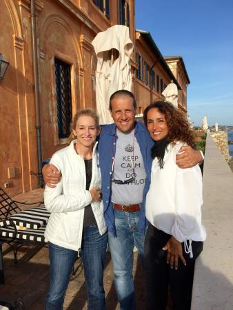 La Posta Vecchia Hotel: Beautiful Day with Marco and Francesca