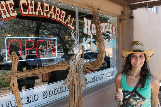 Chaparral Homemade Ice Cream : delicious