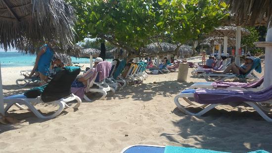 Paradisus Rio de Oro Resort & Spa: Spiaggia affollata